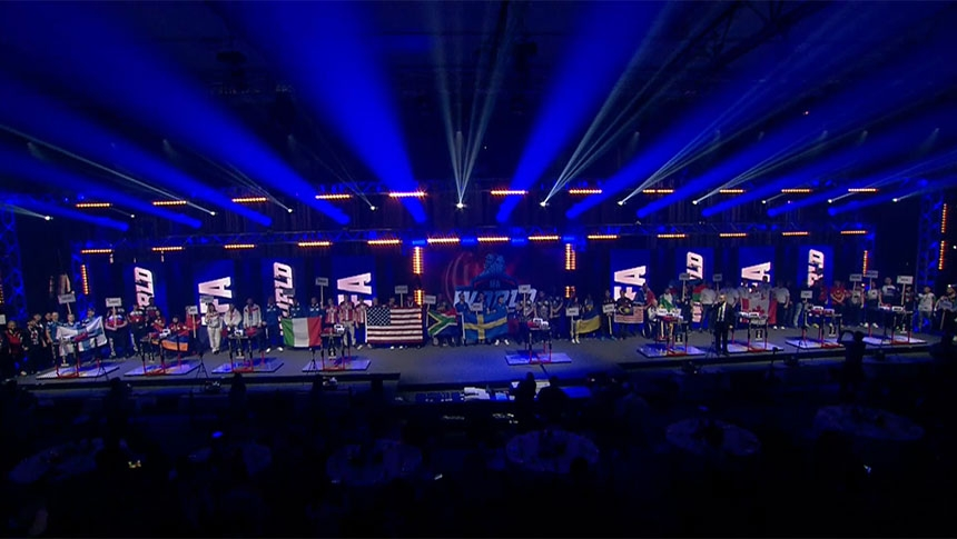 Opening ceremony - IFA World Championship 2019 # Armbets.tv # фкьиуеыюем